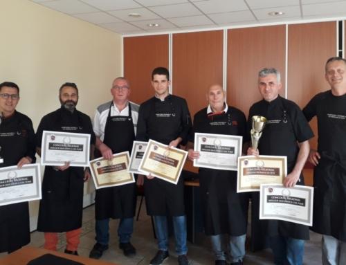 Classement des concours FROMAGE DE TETE ET SAUCISSON A L'AIL 2019